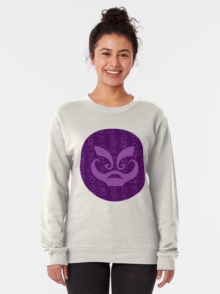 Alternate view of Hero Of Rage Pullover Sweatshirt