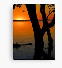 Lake Pammamaroo NSW Canvas Print