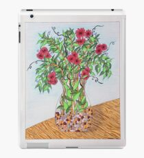 Flowers/21 - Clear Vase with Pebbles/1 iPad Case/Skin
