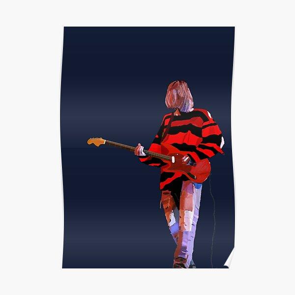 Kurt Cobain Grunge Artwork Poster