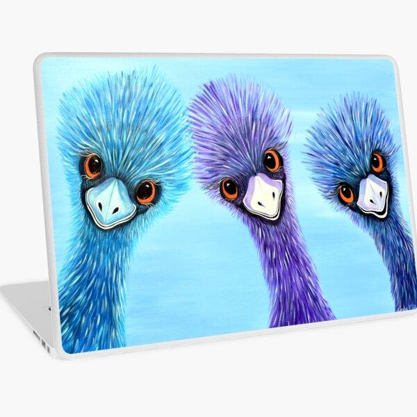 The Three Amigos - Emus Laptop Skin