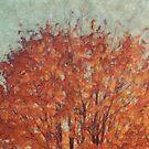 Orange Tree Top by Aimelle