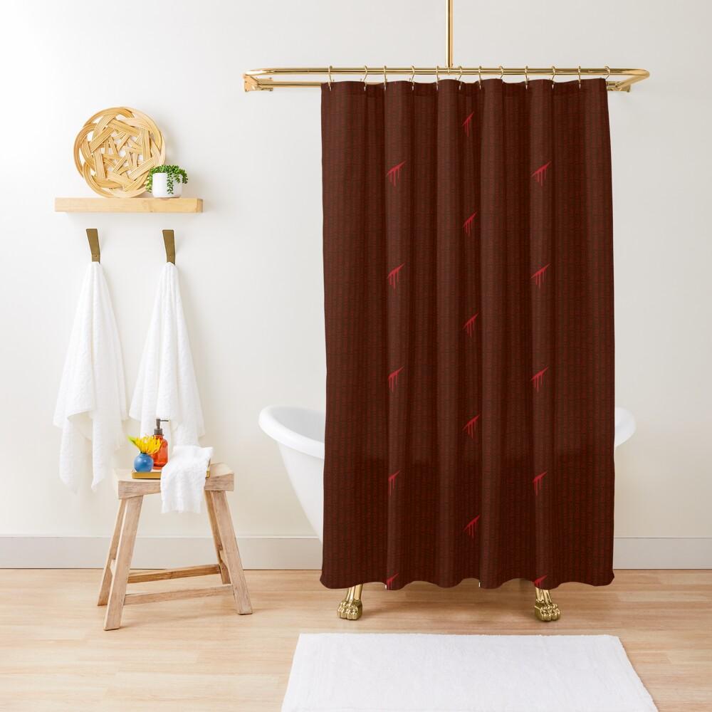 Hero Of Blood Shower Curtain