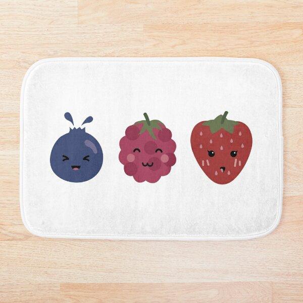 Berry Trio Bath Mat