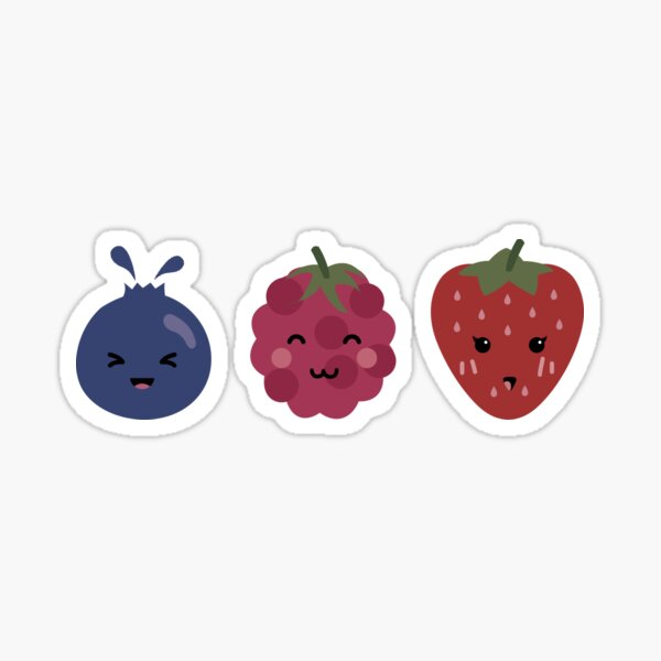 Berry Trio Sticker