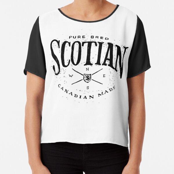Pure Bred Scotian Chiffon Top