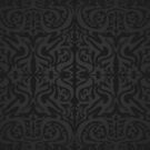 Etnic Pattern Black/Greyscale by elangkarosingo