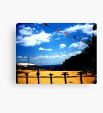Sky and Earth....and... Canvas Print
