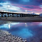 Purple Pier by Ben Goode