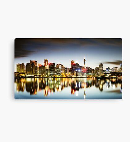 The Luminous City Canvas Print