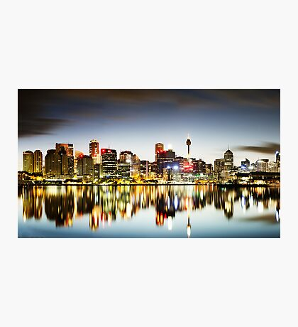 The Luminous City Photographic Print