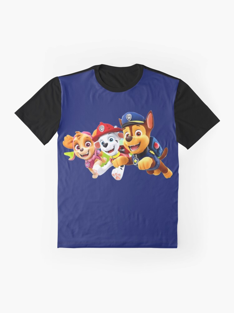 Alternate view of Paw Paw Patrol  Graphic T-Shirt