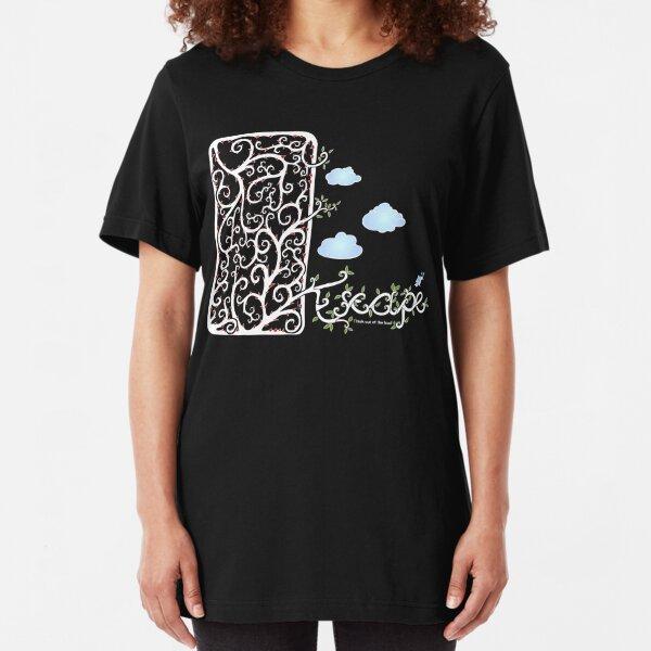 Escape (for dark t-shirt colours) Slim Fit T-Shirt