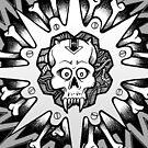 Sawtooth Skull by quigonjim