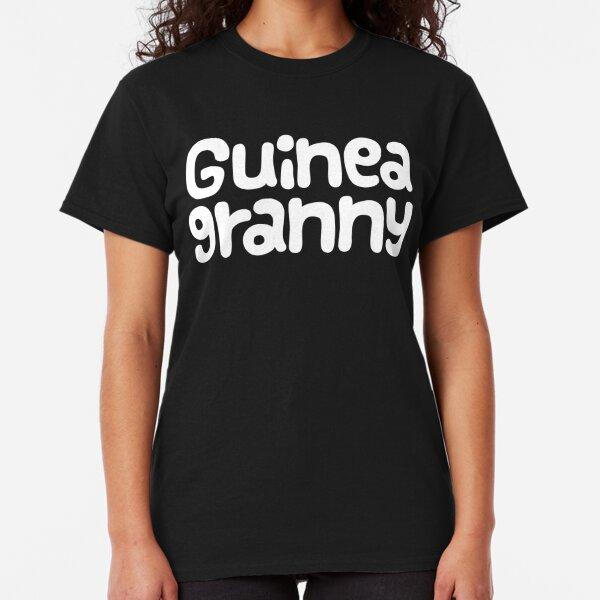 "Guinea Pig Mothers Day Slogan ""Guinea Granny"" Classic T-Shirt"