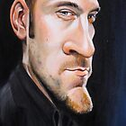 Derren Brown Caricature by Dan Johnson