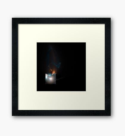 Ace of Diamonds Framed Print