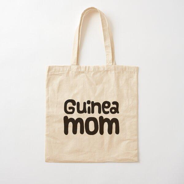 Guinea Pig Mom Cotton Tote Bag