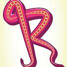 Letter R by rhysjenkinsgd