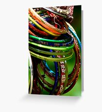 The Colours of India Greeting Card