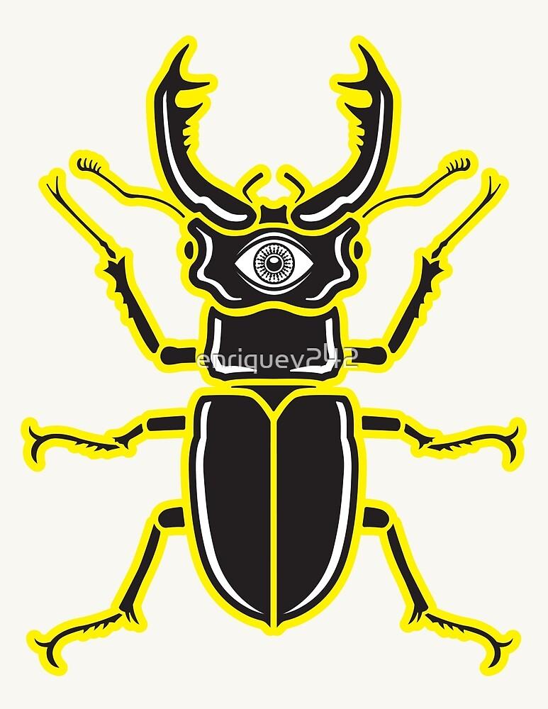 Nightmare Beetle by enriquev242
