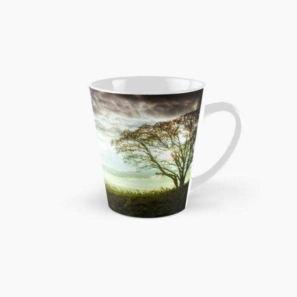 German Wirehaired Pointer Sunset Tall Mug