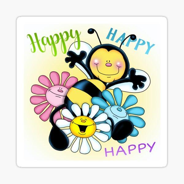 Just Bee Sticker