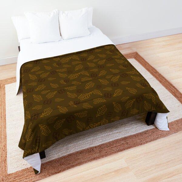 ADINKRA Fern and Link | Mocha Brown Comforter