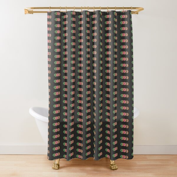 Go nuts for DDDonuts Shower Curtain