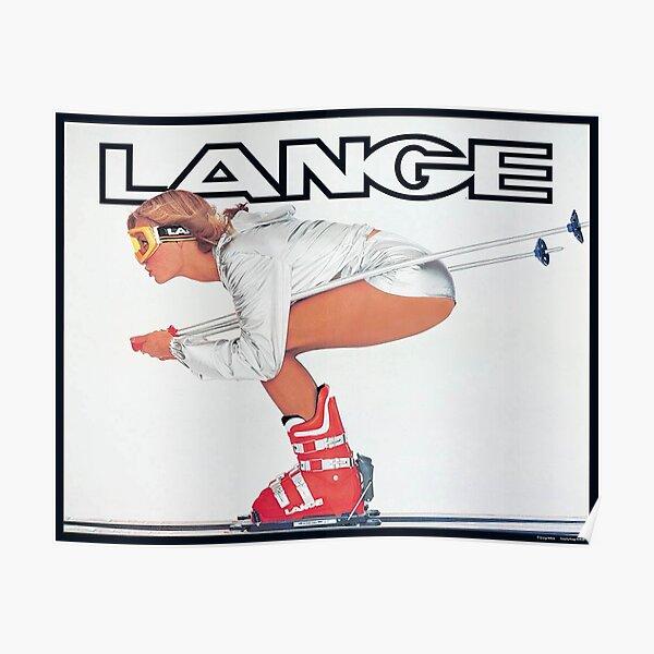 Lange Ski Girl  Poster
