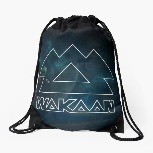 Wakaan - Lost in Space Drawstring Bag