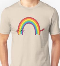 Camiseta unisex Rainbow Cat