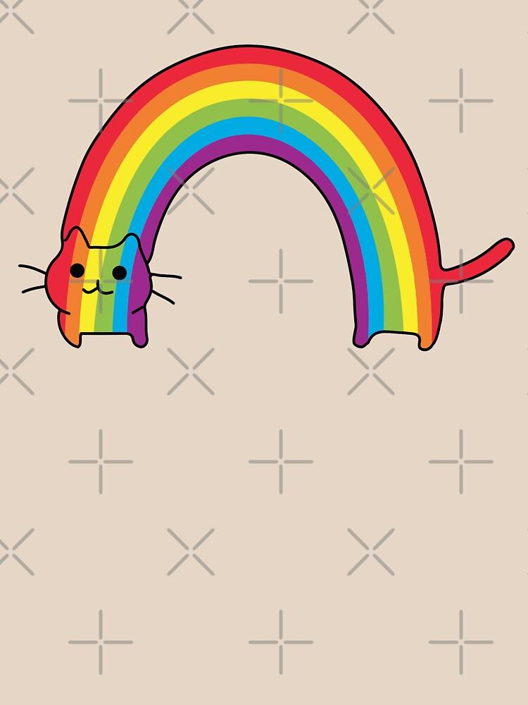 Regenbogen Katze von whitneykayc