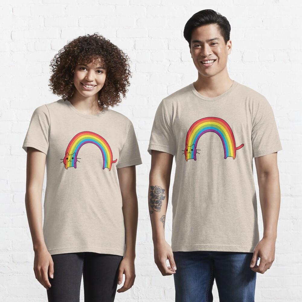 Rainbow Cat Essential T-Shirt
