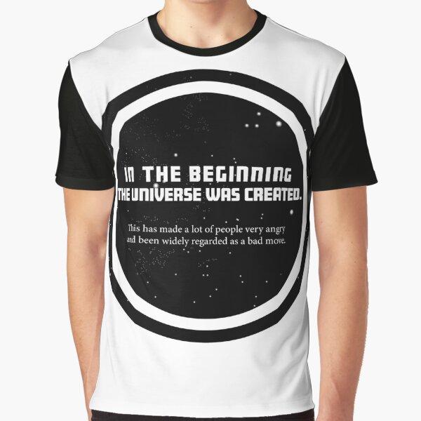 Douglas Adams Graphic T-Shirt