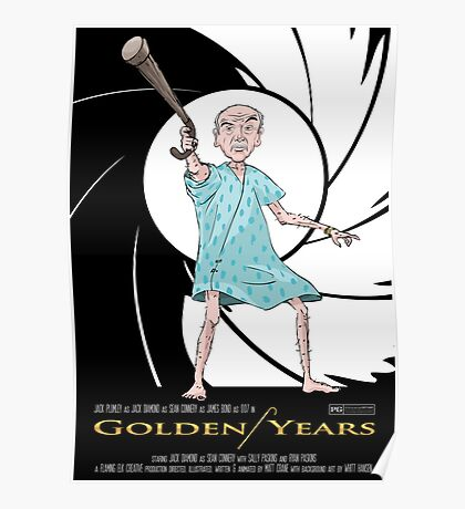 Golden Years - A James Bond Parody Poster