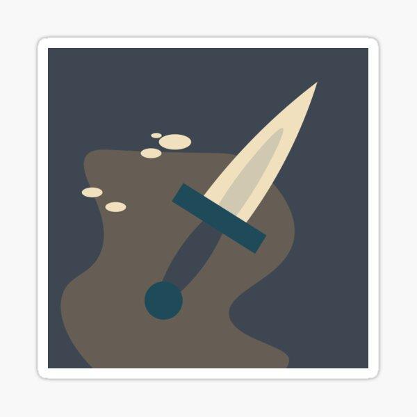 The Knife Sticker