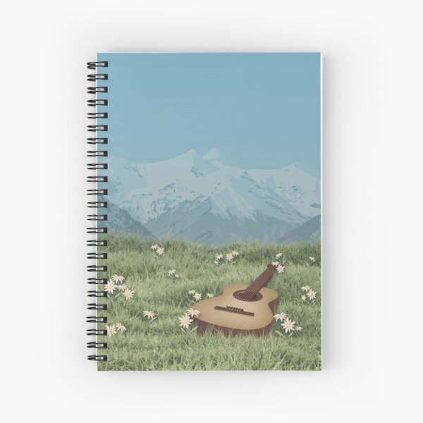 The Sound of Music Poster Illustration Spiral Notebook