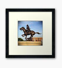 Army Cavalry Framed Print