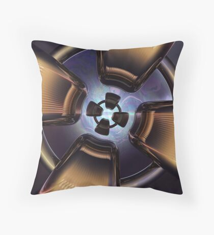 Rotor Reflection Throw Pillow