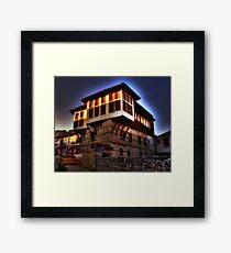 Traditional old house at Kastoria (Makedonia, Greece) Framed Print