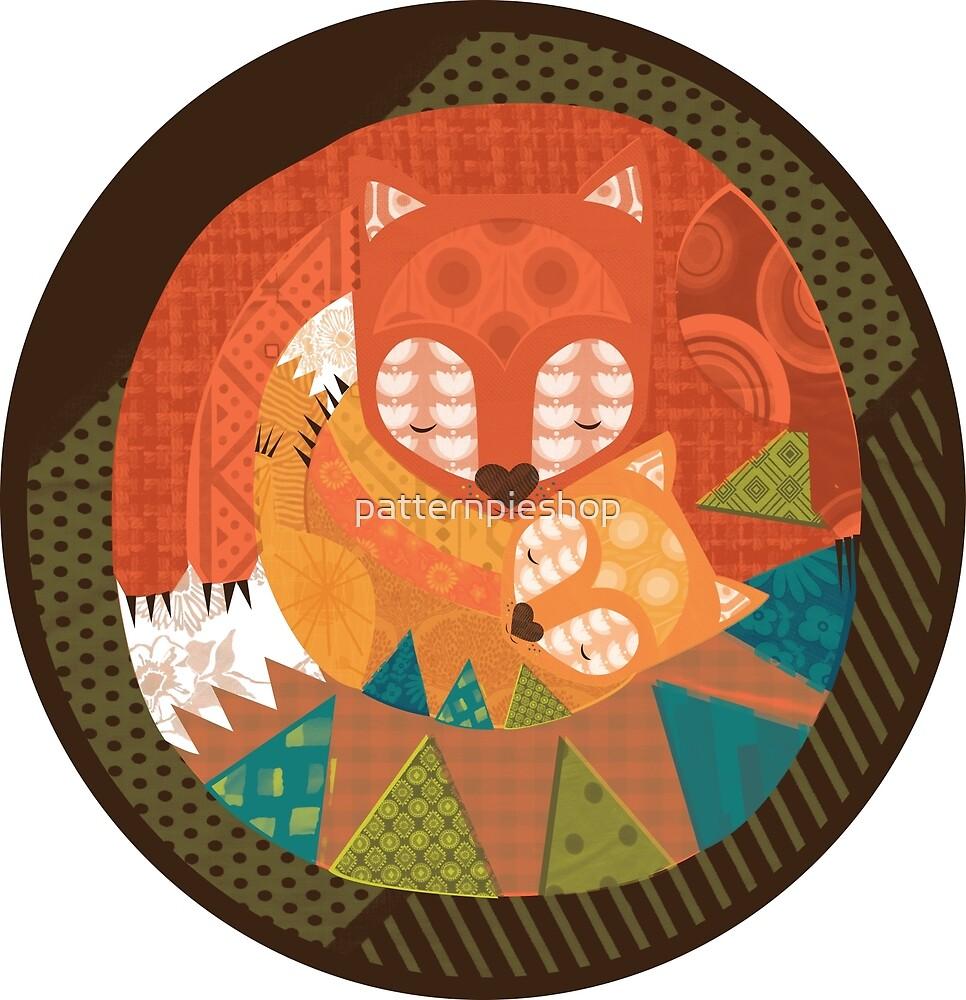 Fox Love by patternpieshop