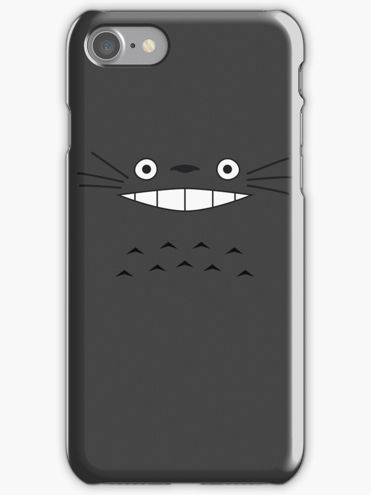 Totoro Face by PyroDraco