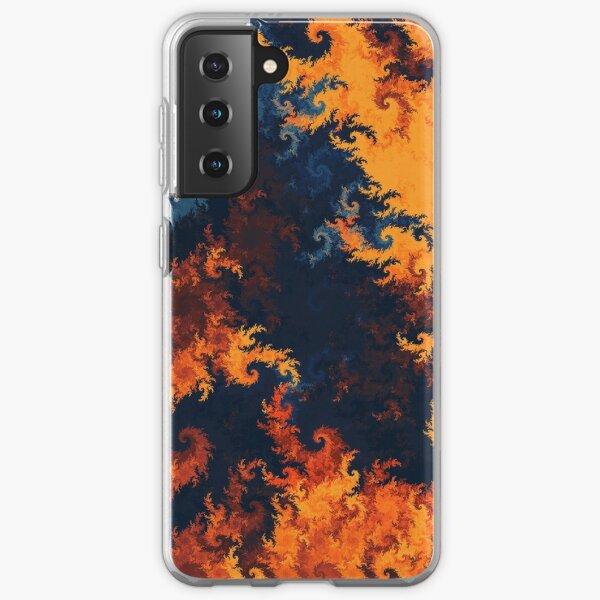 flames of fire Samsung Galaxy Soft Case