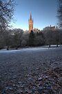 Kelvingrove Winter (1) by Karl Williams