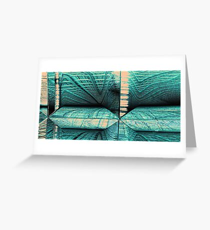 Scanning Tunnel Greeting Card