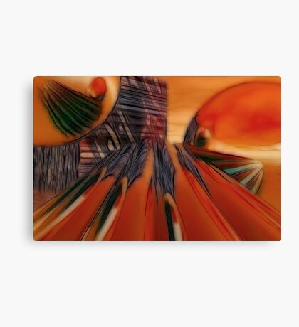 Dragon's Den Canvas Print