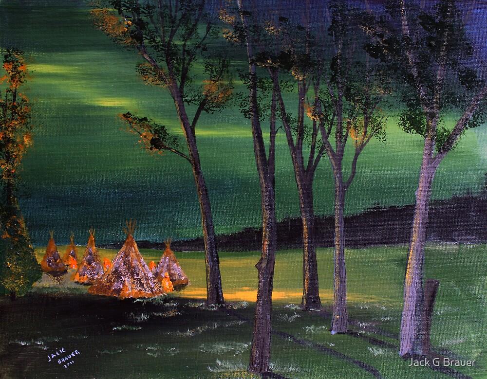 Northern Lights #1 by Jack G Brauer