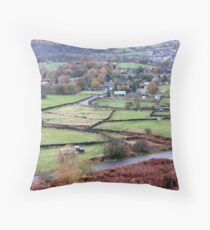 Derbyshire Dale Throw Pillow
