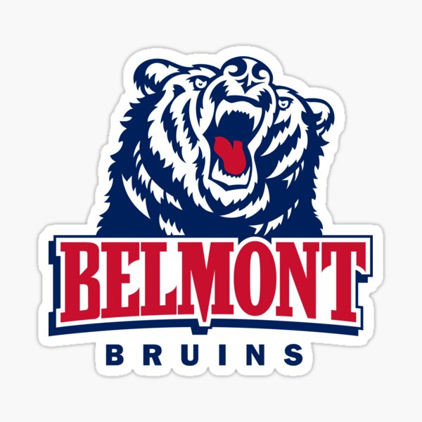 State Boarder Sticker Belmont University Bruins NCAA Vinyl Decal Laptop Water Bottle Car Scrapbook